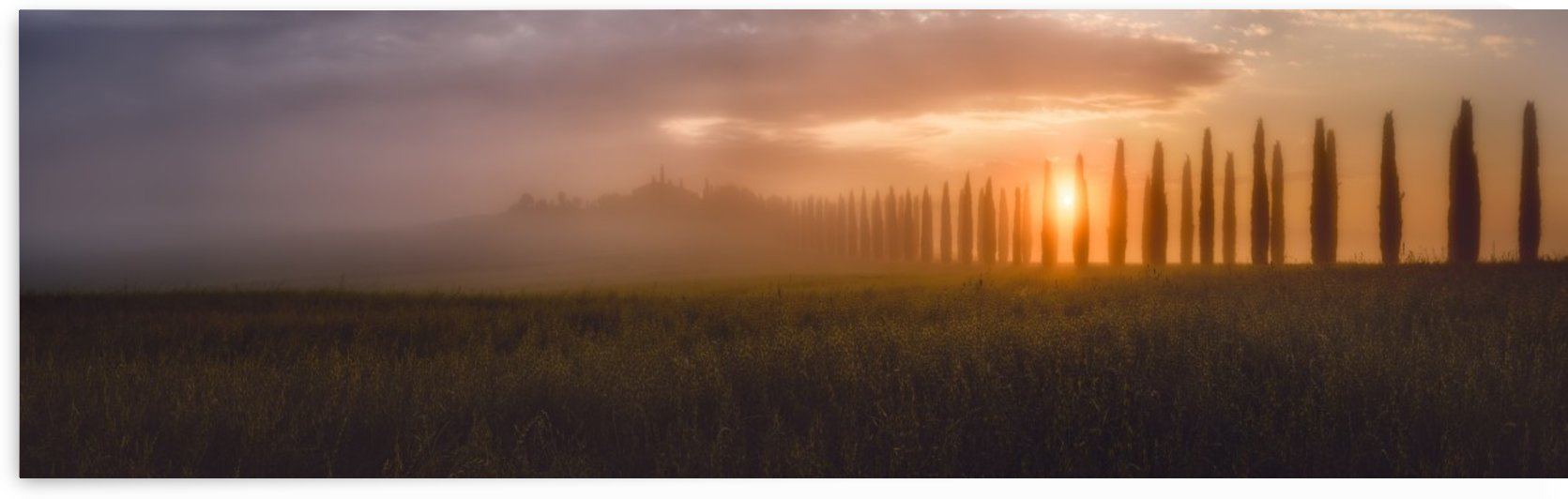 Tuscany Sunrising by 1x