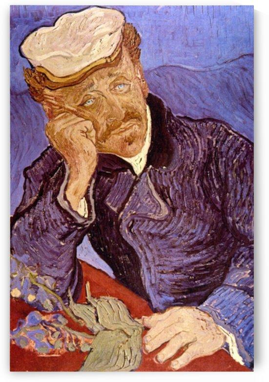 Portrait of Dr Gachet by Van Gogh by Van Gogh
