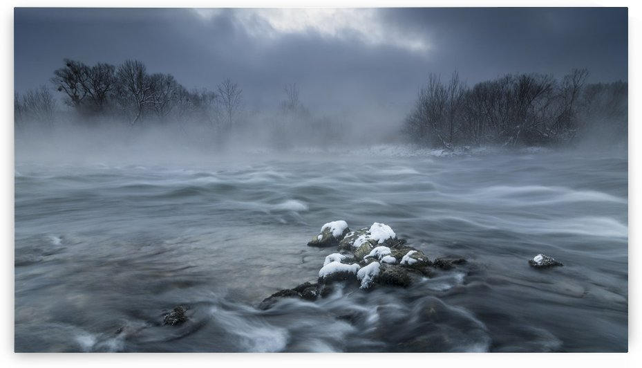 Frosty morning at the river by 1x