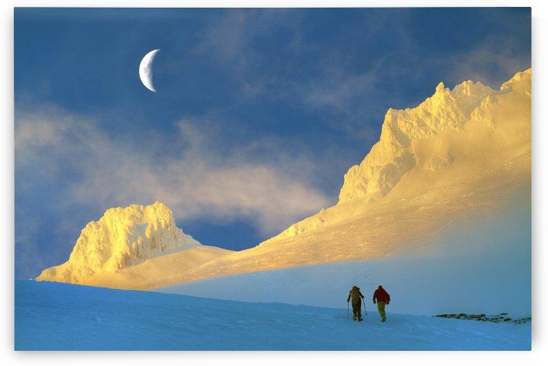 Toward Frozen Mountain by 1x