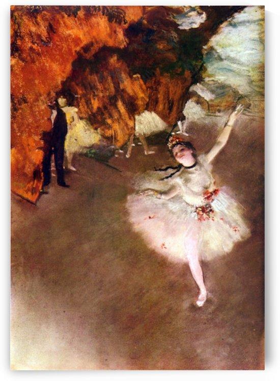 Prima Ballerina by Degas by Degas