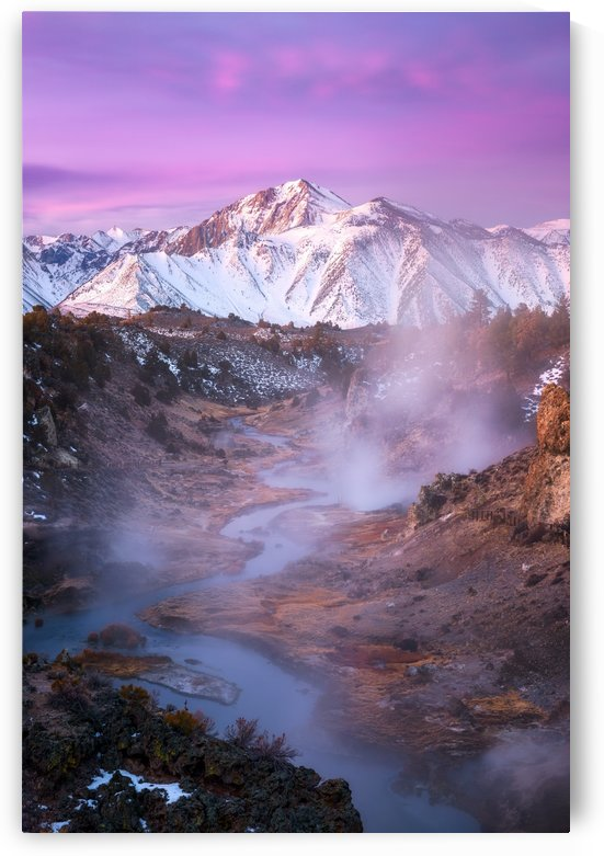 Pink Eastern Sierra by 1x