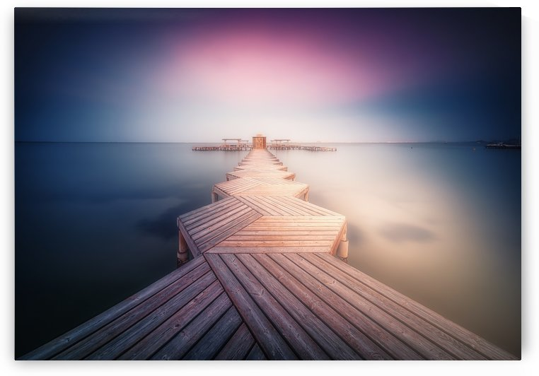 The Lighted Pier. by 1x