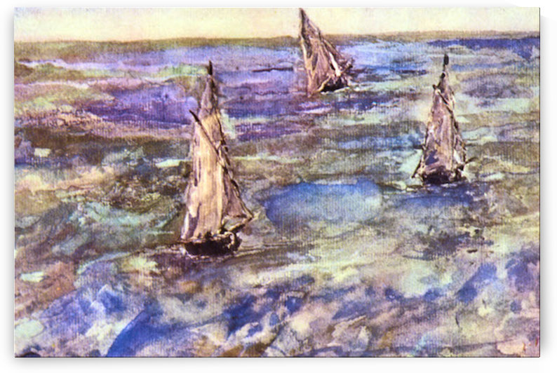 Seascape, 1873 by Manet by Manet