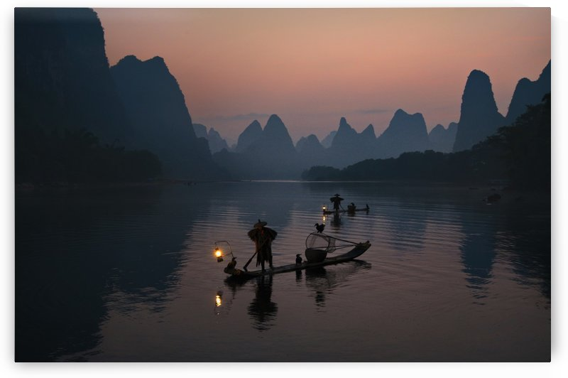 Fisherman of the Li River by 1x