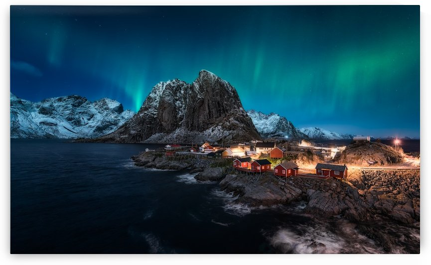 Dancing over Hamnoy by 1x