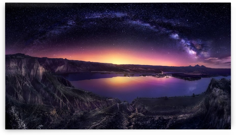 Milky way over Las Barrancas 2016 by 1x
