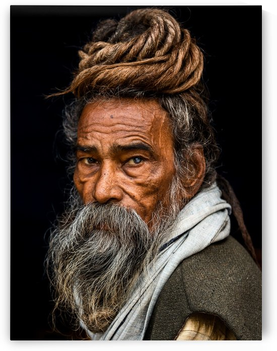 Portrait of a Sadhu... by 1x