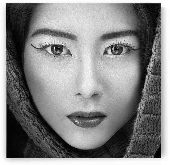 portrait of icha by 1x