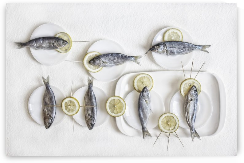 Still Life with Fish by 1x