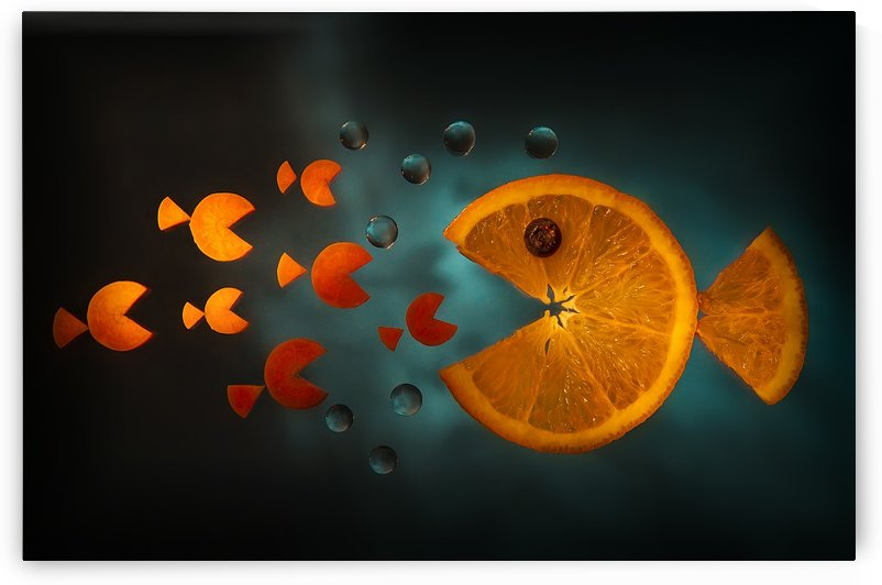 Orange fish by 1x