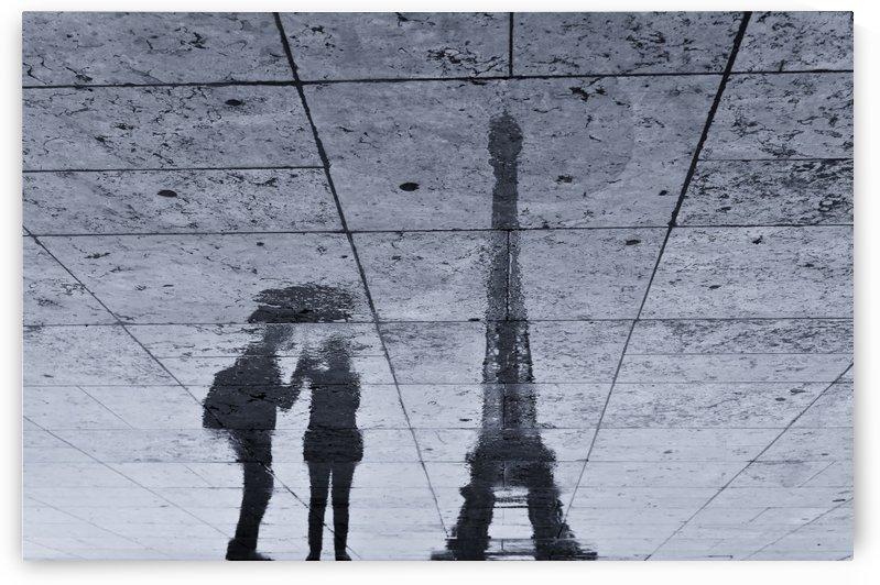 Under the Rain in Paris by 1x