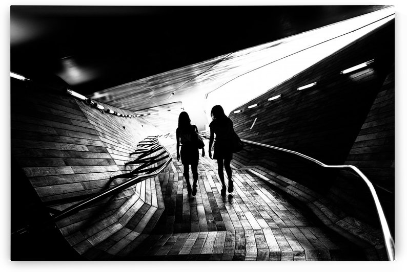 Walking towards the light by 1x