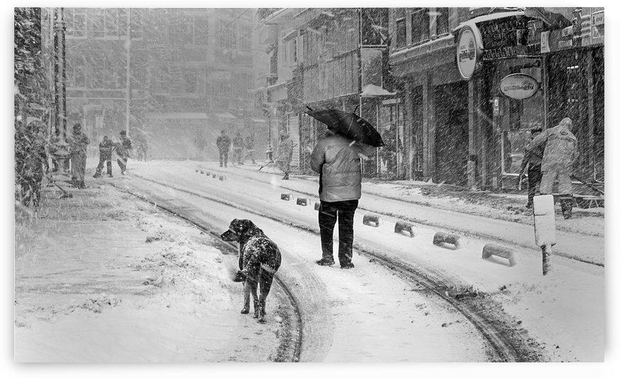 Snowy day A±n A°stanbul by 1x