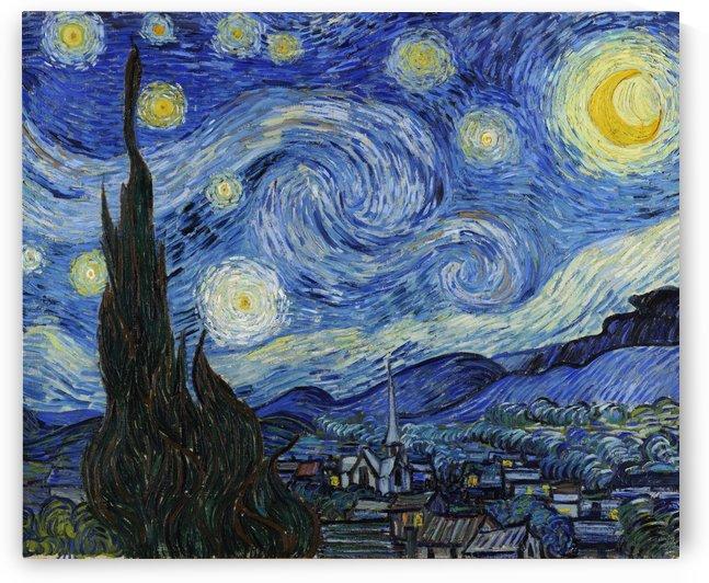 Starry Night by Van Gogh by Van Gogh