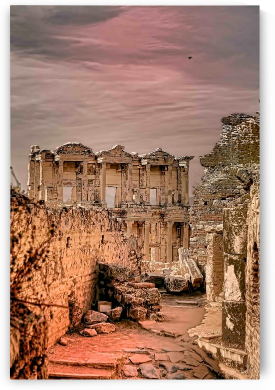ruins of ephesus by tom Prendergast