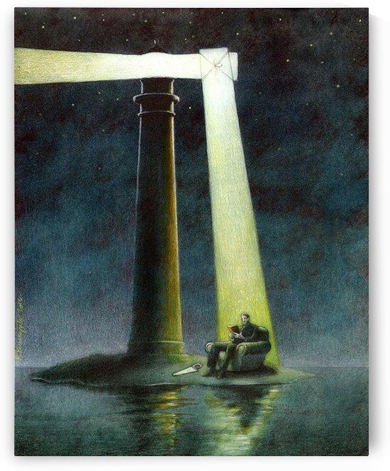 Lighthouse by Pawel Kuczynski