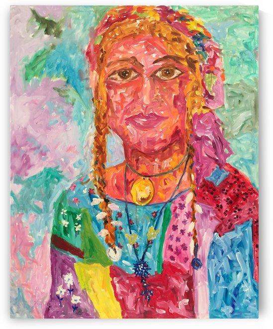 Gypsy Queen by Khalid Alzayani