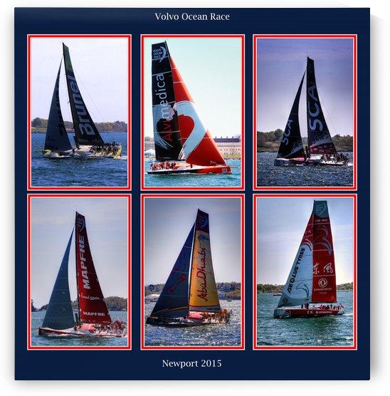 volvo ocean race newport 2015 by tom Prendergast