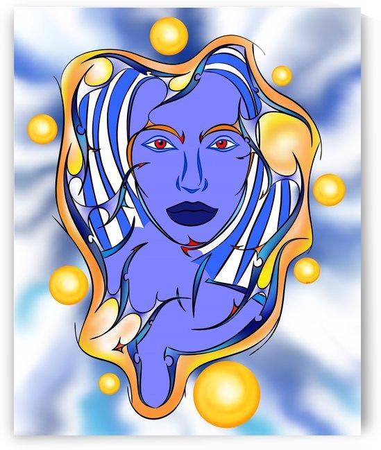 Angeonilium V2 - beautiful angel by Cersatti Art
