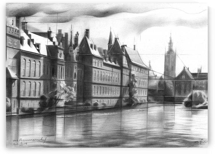 Het Binnenhof (The Inner Court) 17-08-16 by Corné Akkers