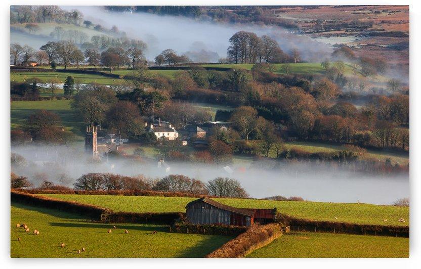 Brentor mist by Andrew Turner