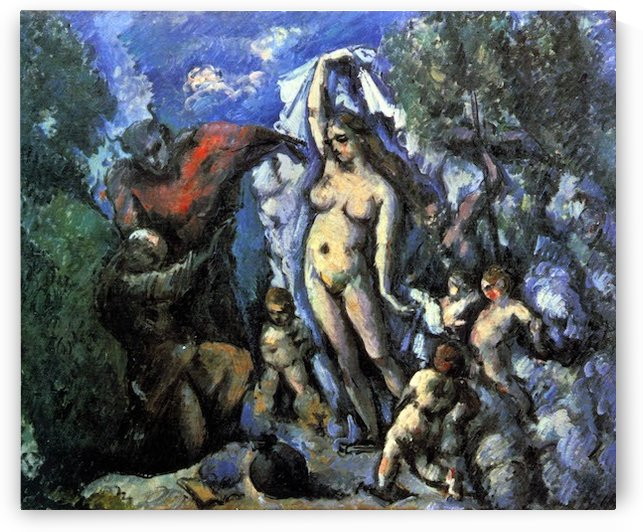 Temptation of St. Anthony by Cezanne by Cezanne