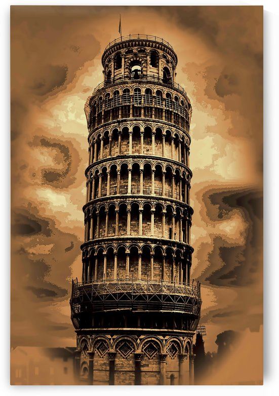 the leaning tower of pisa tom prendergast by tom Prendergast