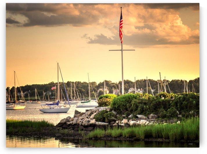 safe harbor Brrstol Rhode Island by tom Prendergast