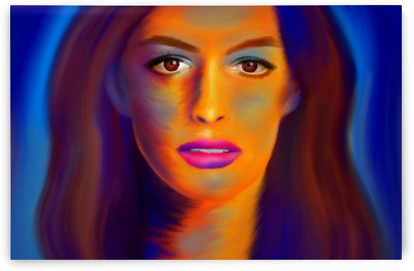 Waiihatissa - Anne Hathaway by Cersatti Art