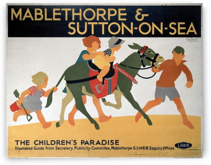 Mablethorpe and Sutton on Sea by VINTAGE POSTER