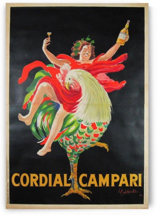 Cordial Campari by VINTAGE POSTER