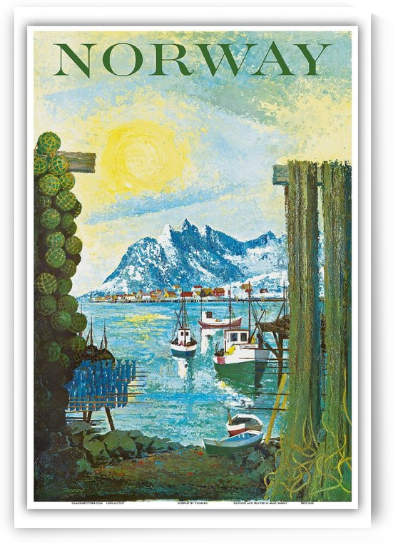 Norway by VINTAGE POSTER