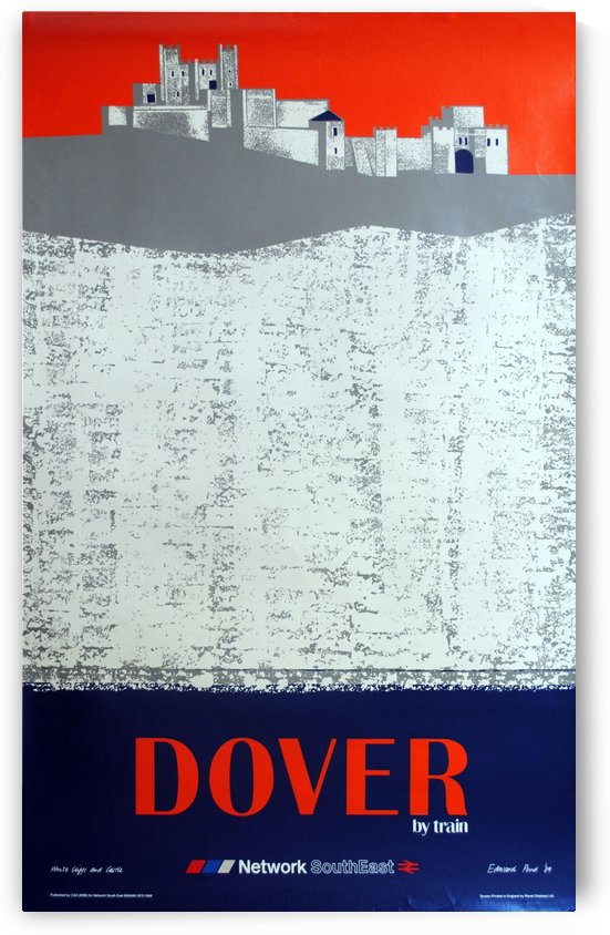 Dover by Train by VINTAGE POSTER