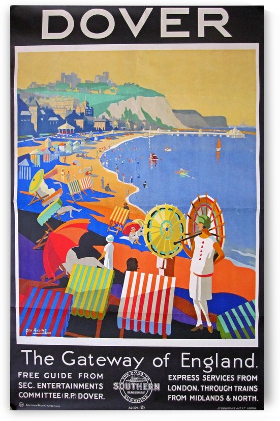 Dover The Gateway of England by VINTAGE POSTER