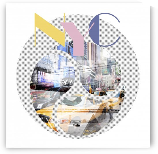 TRENDY DESIGN New York City | Geometric Mix No 1 by Melanie Viola