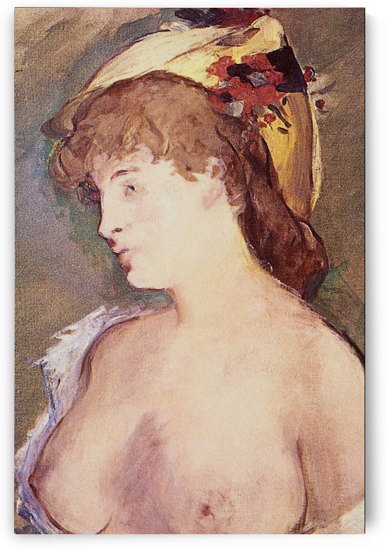 The Blond Nude by Manet by Manet