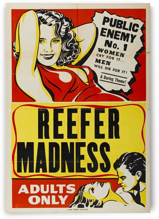 Reefer Madness by VINTAGE POSTER