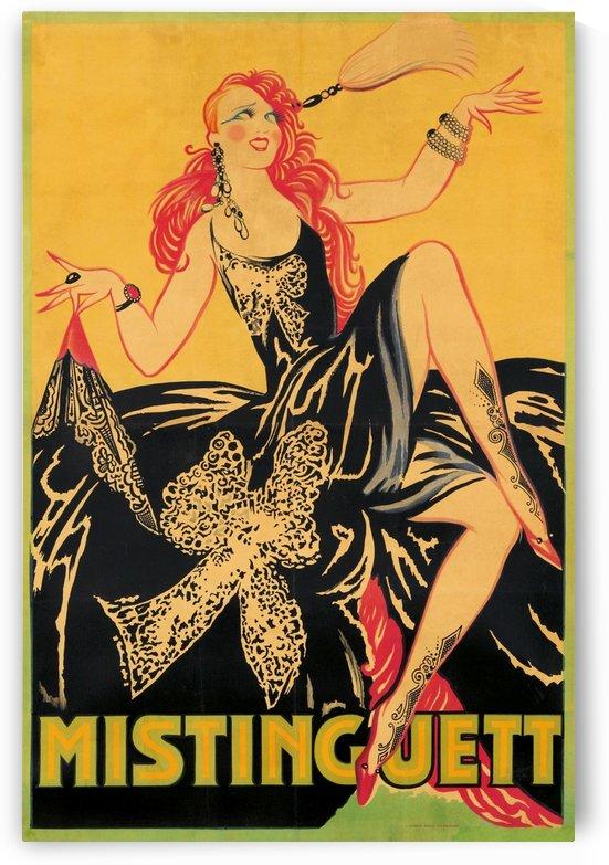 Mistinguett poster, 1920 by VINTAGE POSTER