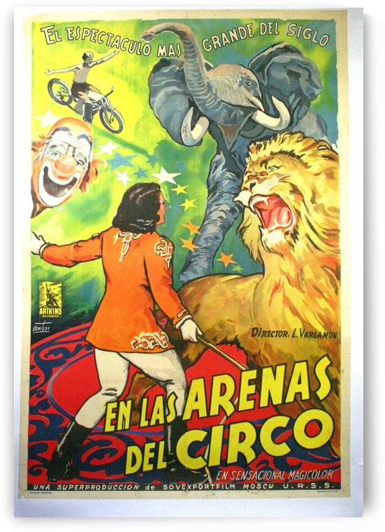 Argentinian Circus Poster by VINTAGE POSTER