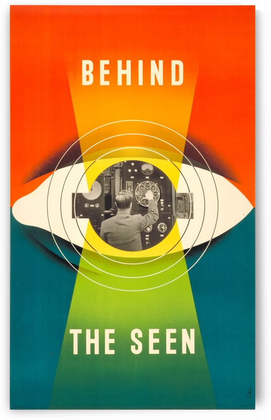 Behind the Seen by VINTAGE POSTER
