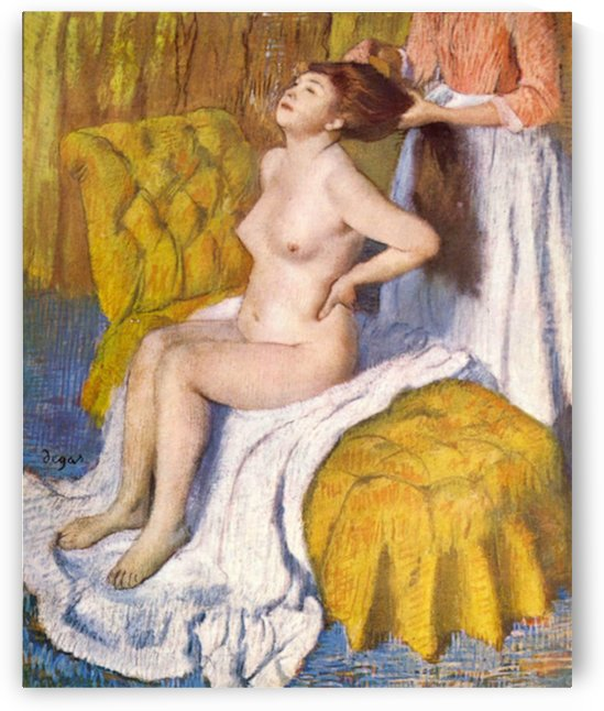 The Body Care by Degas by Degas
