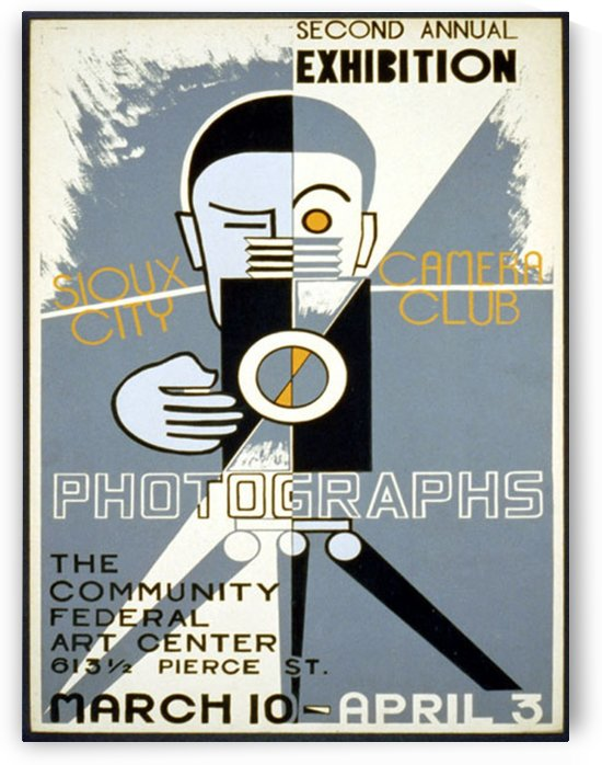 Sioux City Camera Club by VINTAGE POSTER