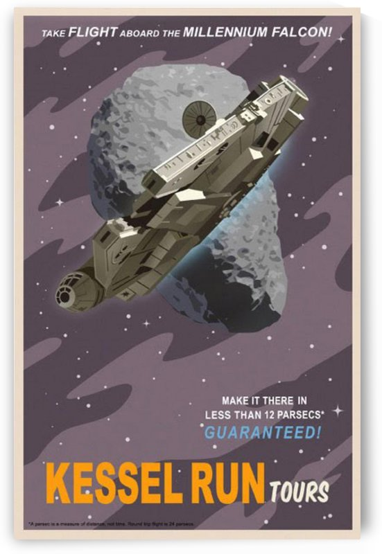 Kessel Run Tours by VINTAGE POSTER