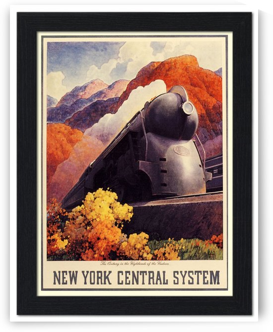 New York Central Systems, Highlands by VINTAGE POSTER