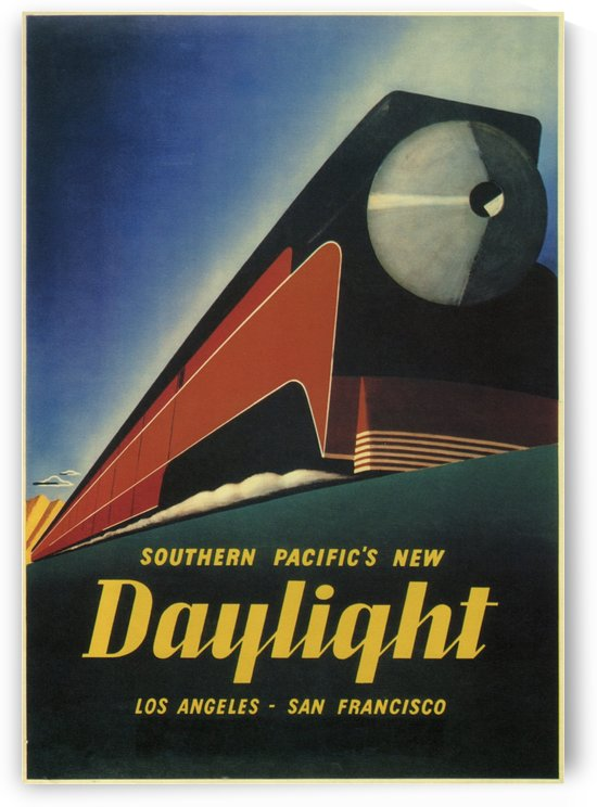 Southern Pacific's New Daylight by VINTAGE POSTER