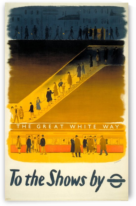 To the shows by Underground by VINTAGE POSTER
