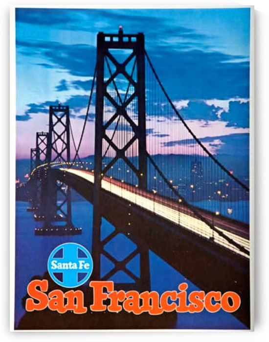 Santa Fe San Francisco by VINTAGE POSTER