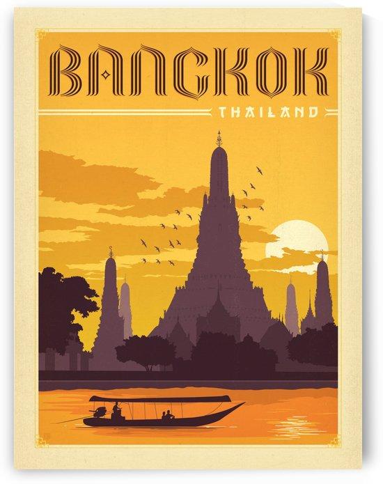 Bangkok Thailand by VINTAGE POSTER