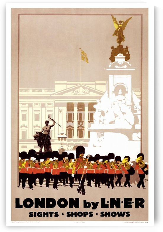 London by LNER by VINTAGE POSTER